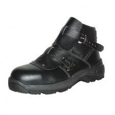 Ботинки сварщика кожанные с МН ПУ нитрильная резина