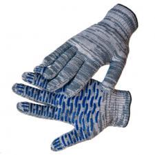 Перчатки ХБ «Волна» с ПВХ 5 нитей