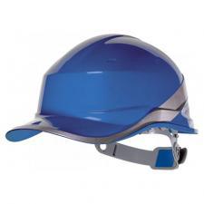 Каска строительная «DIAMOND» синяя