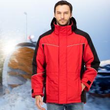 Куртка зимняя «Корсар» цвет красный