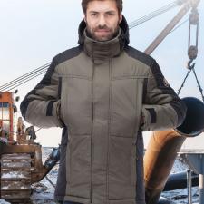 Куртка зимняя «Корсар» цвет хаки