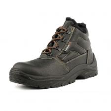 Ботинки кожаные «Стикс» ПУ утепленные с МП