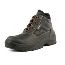 Ботинки кожаные «Стикс» ПУ утепленные
