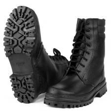 Ботинки с высоким берцем «Армия» хром на искусственном меху