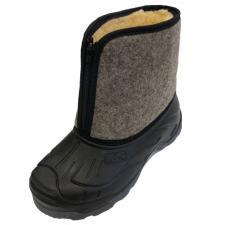 Ботинки «LC-5» мужские суконные на молнии ТЭП